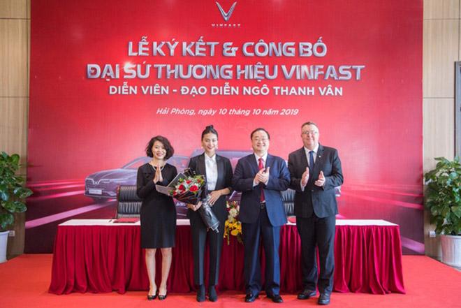 Đại sứ thương hiệu xe VinFast